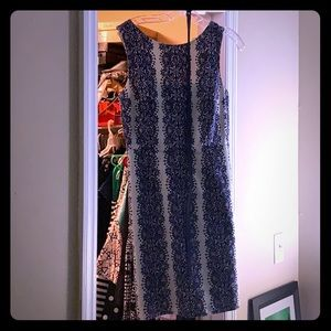 Size 6 blue white dress from the limited.